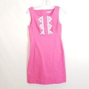 Lilly Pulitzer 2 Pink Sleeveless Dress #91350